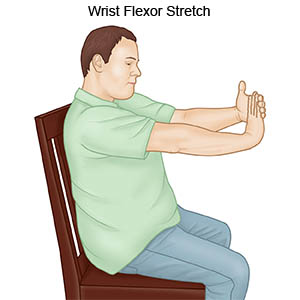 Wrist Flecor Stretch