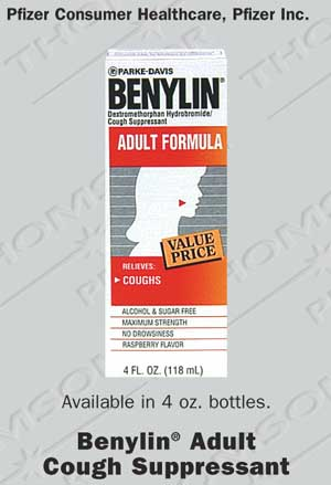 adult suppressant Benylin formula cough