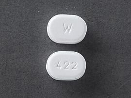 Amlodipine besylate 5 mg W 422