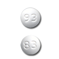 Amlodipine besylate 2.5 mg 93 83