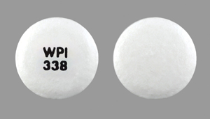 Diclofenac sodium delayed release 50 mg WPI 338