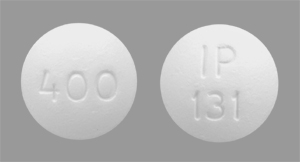Ibuprofen 400 mg IP 131 400