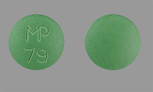 Imipramine hydrochloride 50 mg MP 79