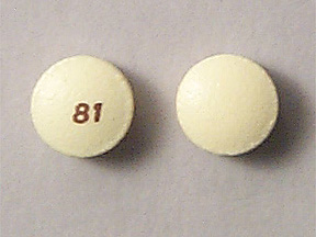 Pill Imprint 81 (Aspirin Delayed Release 81 mg)