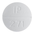 Sulfamethoxazole and trimethoprim 400 mg / 80 mg IP 271