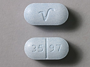 Acetaminophen and hydrocodone bitartrate 650 mg / 10 mg 35 97 V