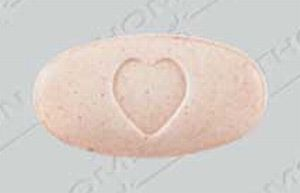 Avalide 12.5 mg / 150 mg 2875 Logo (Heart)