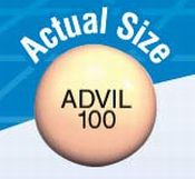 Advil junior strength 100 mg Advil 100