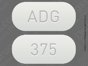 Pill Imprint ADG 375 (Lorzone 375 mg)