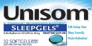 Unisom Sleepgels Maximum Strength Uses, Side Effects