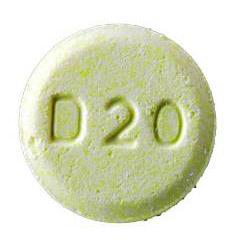 Olanzapine (orally disintegrating) 20 mg D20 CO
