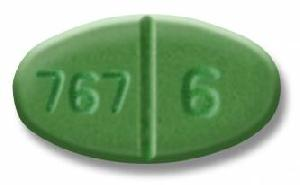Warfarin sodium 6 mg AN 767 6