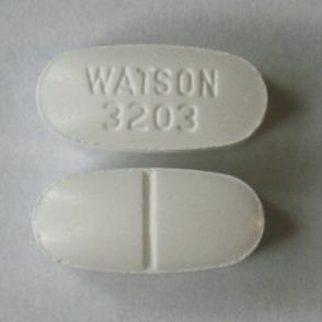 Acetaminophen and hydrocodone bitartrate 325 mg / 7.5 mg WATSON 3203