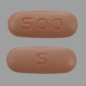 Niacin extended-release 500 mg S 500