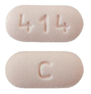 Rizatriptan benzoate 5 mg (base) C 414