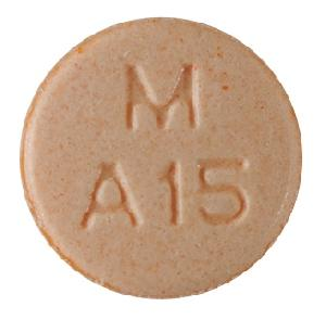 Amphetamine and Dextroamphetamine M A15