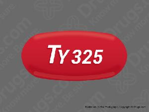 Tylenol regular strength 325 mg TY 325