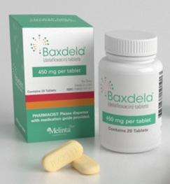 Pill Imprint RX3341  (Baxdela 450 mg)