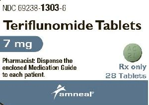 Pill Imprint AC 21 (Teriflunomide 7 mg)