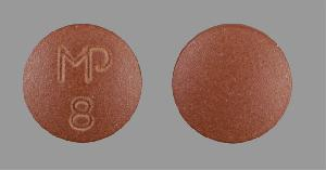 Imipramine hydrochloride 25 mg MP 8