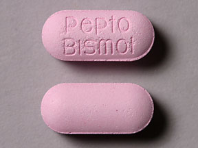 Pepto-Bismol bismuth subsalicylate 262 mg