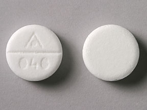 Pill Imprint AP 040 (Simethicone 125 mg)