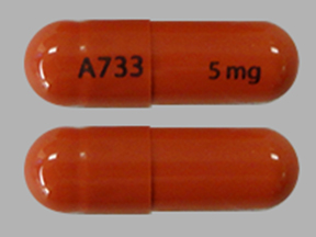Pill Imprint A733 5 mg (Juxtapid 5 mg)
