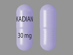 Kadian 30 mg KADIAN 30 mg