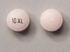 Pill Imprint 10 XL  (Ditropan XL 10 mg)