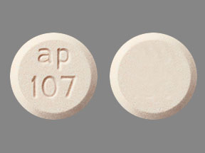 Pill Imprint ap 107 (Emverm 100 mg)