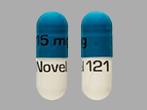 Temazepam 15 mg 15 mg Novel 121