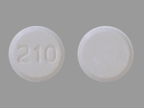 Pill Imprint 210 (Amlodipine Besylate 5 mg)