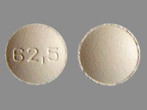 Pill Imprint 62.5 (Tracleer 62.5 mg)