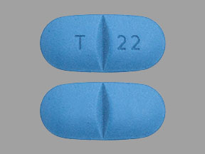 Naproxen sodium 550 mg T 22