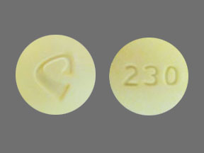 Acetaminophen and oxycodone hydrochloride 325 mg / 10 mg C 230