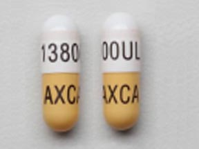 Pill Imprint 13800Ul Axca (Ultresa 27,600 USP units amylase; 13,800 USP units lipase; 27,600 USP units protease)