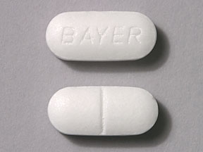 Bayer aspirin 325 mg BAYER
