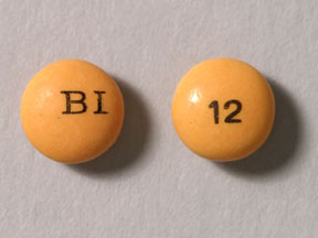 Pill Imprint 12 BI (Dulcolax 5 mg)