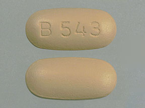 Pill Imprint B 543  (Multigen Vitamin B12 with C, Iron and Intrinsic Factor)