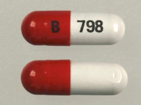 Pill Imprint B 798  (Ferrex 150 Forte Plus Vitamin B Complex with C, Folic Acid and Iron)