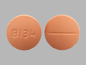 Methocarbamol 500 mg B134