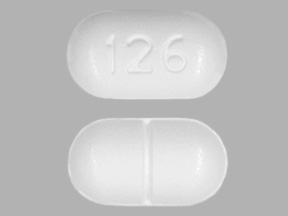 Lorcet acetaminophen 325 mg / hydrocodone bitartrate 5 mg 126