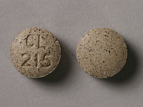 Pill Imprint CL 215 (Senexon 8.6 mg)