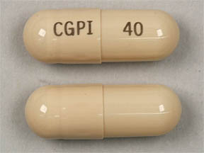 Oracea 40 mg CGPI 40