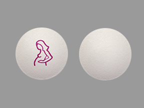 Doxylamine Succinate and Pyridoxine Hydrochloride Delayed-Release Logo (Pregnant Woman)