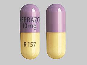 Omeprazole delayed release 10 mg OMEPRAZOLE 10mg R157