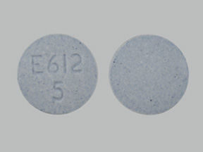 Pill Imprint E612 5 (Opana 5 mg)