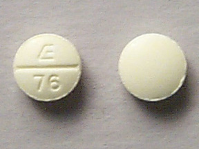 Pill Imprint E 76 (Phendimetrazine Tartrate 35 mg)
