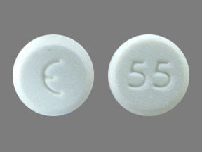 Amlodipine besylate 2.5 mg E 55