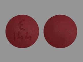 Demeclocycline hydrochloride 300 mg E 144